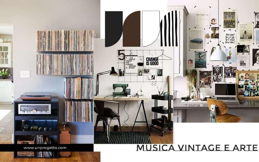 Camera per ragazzo giovane tra vintage e industriale - Camere da letto retro ...