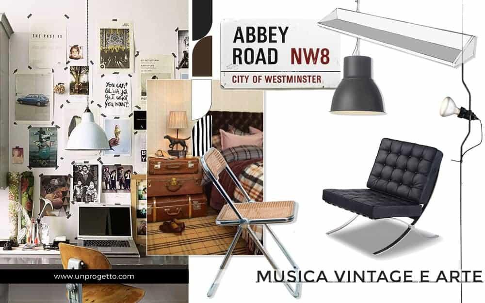 Camera per ragazzo giovane tra vintage e industriale - Camera da letto vintage ...