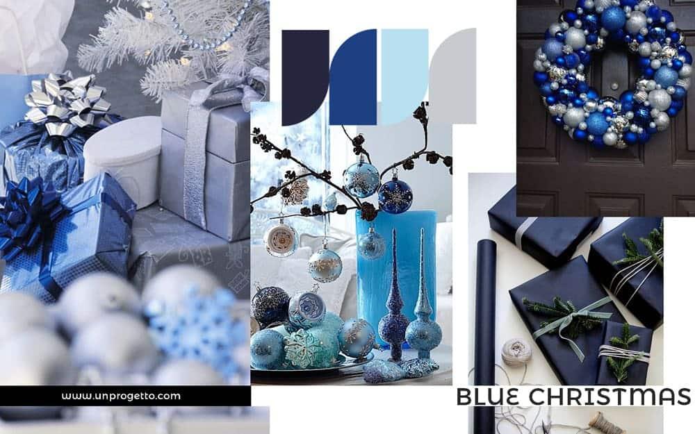 Addobbi di Natale Creativi - blu e azzurro