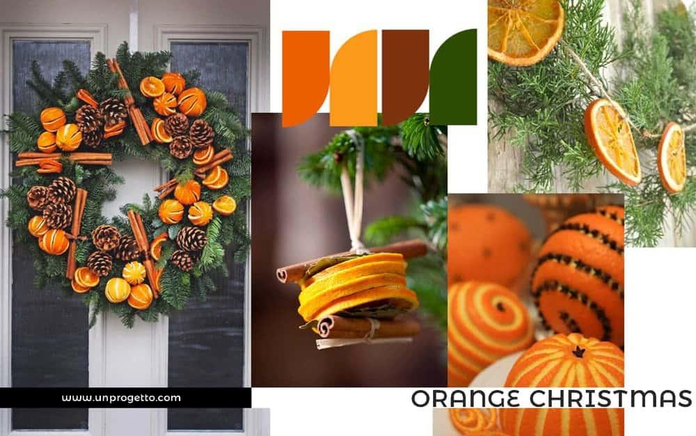 Addobbi di Natale Creativi - arancio
