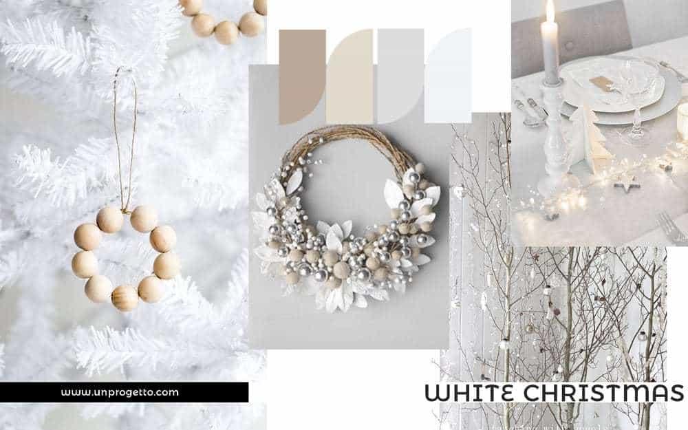 Addobbi di Natale Creativi - bianco