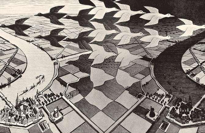 Mostra Escher Milano Palazzo Reale informazioni
