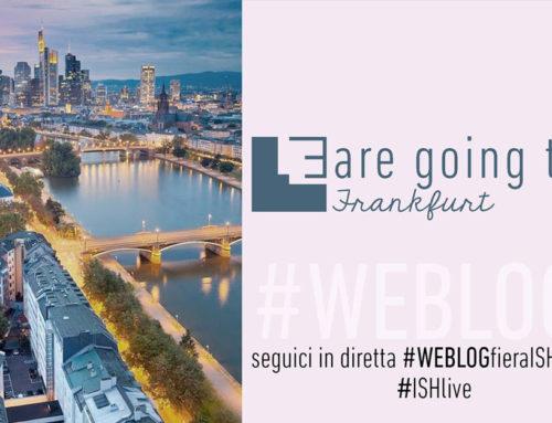 #WEBLOGFIERAISH   WEBLOG @ ISH FRANKFURT