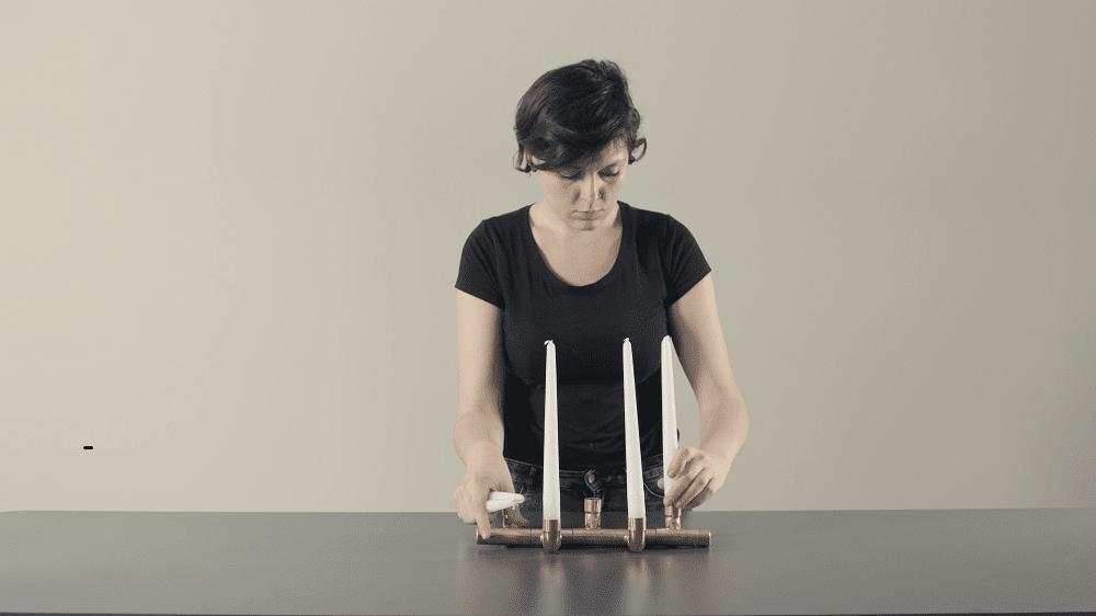Design Lab Leroy Merlin PORTACANDELE-LUMIERE