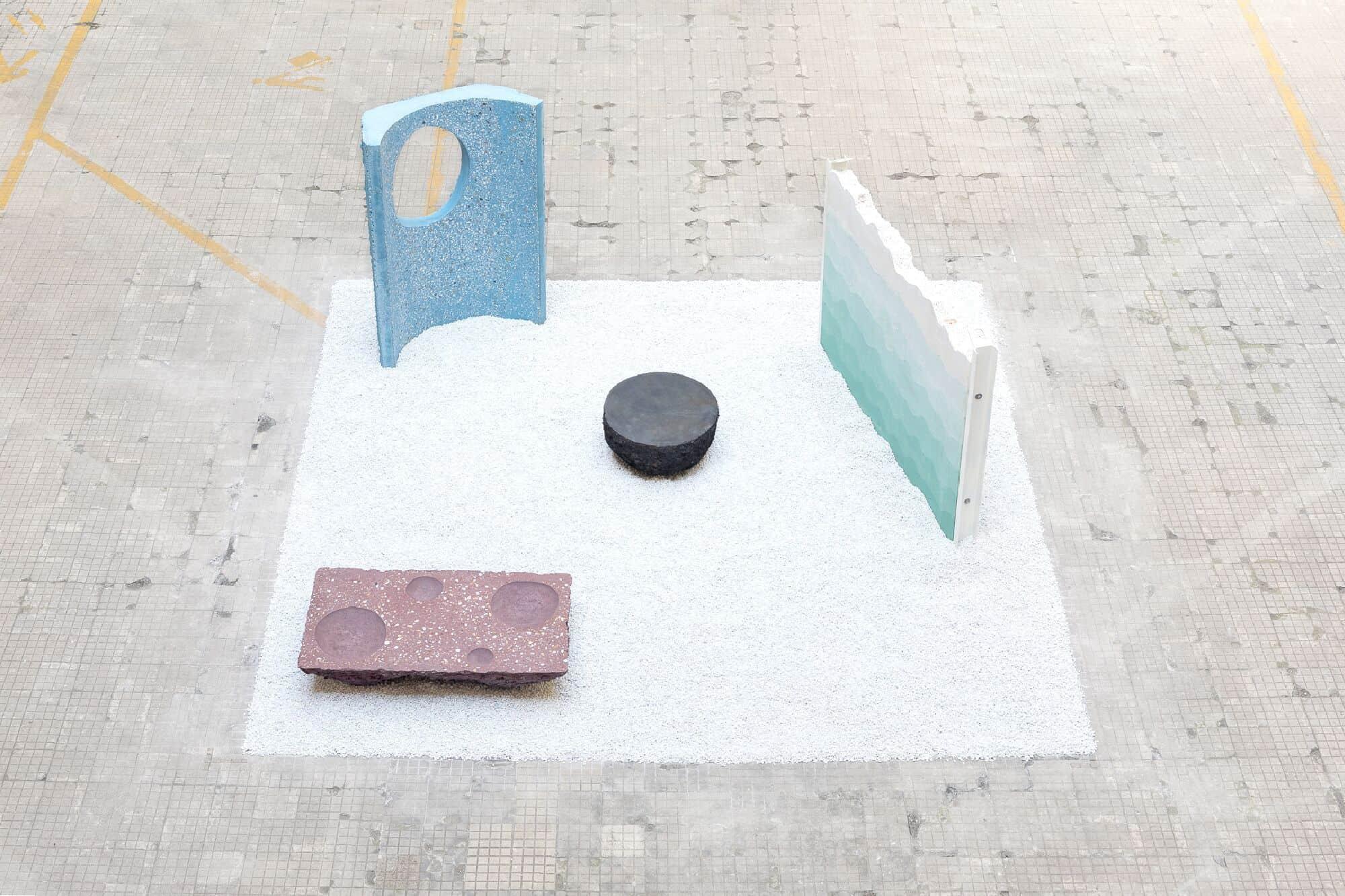 Petrified carpets Studio Ossidiana Fuorisalone 2017
