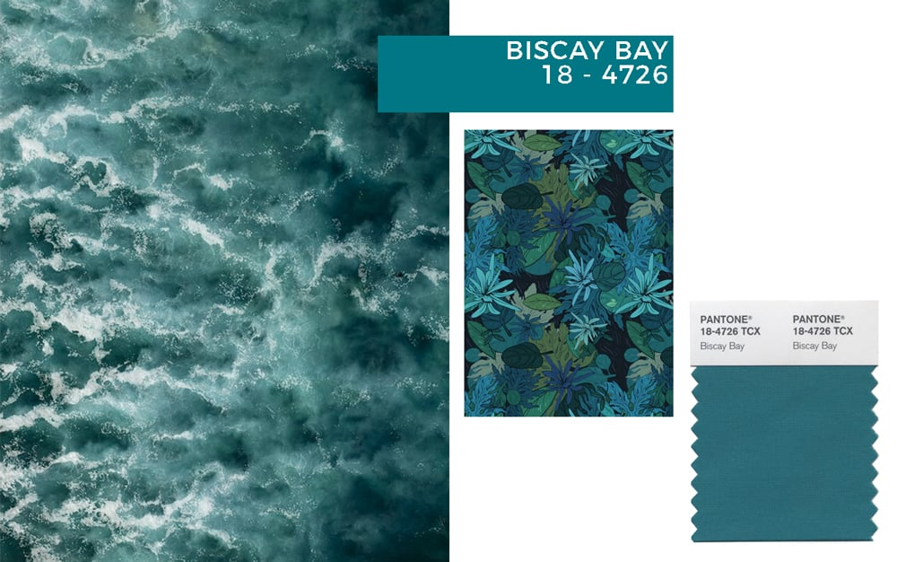 teal interiors: biscay bay