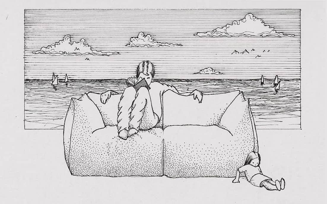Le bambole divano Mario Bellini B&B Italia