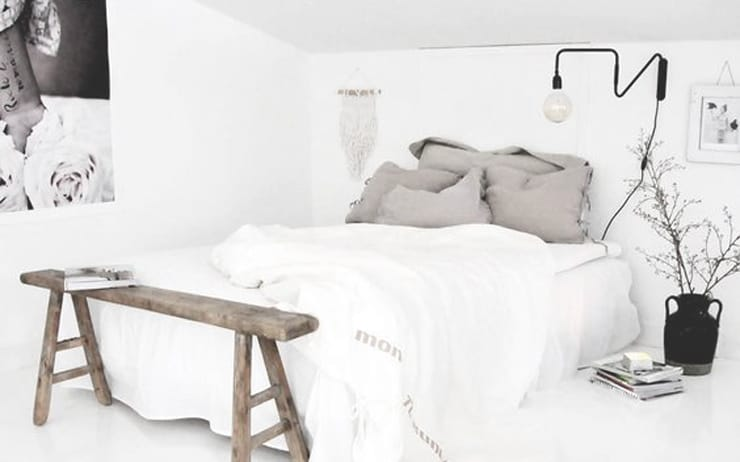 Total white bedroom random inspirations unprogetto for Camera da letto total white