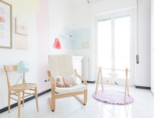 BEDROOM FOR A BABY GIRL | WELCOME RACHELE