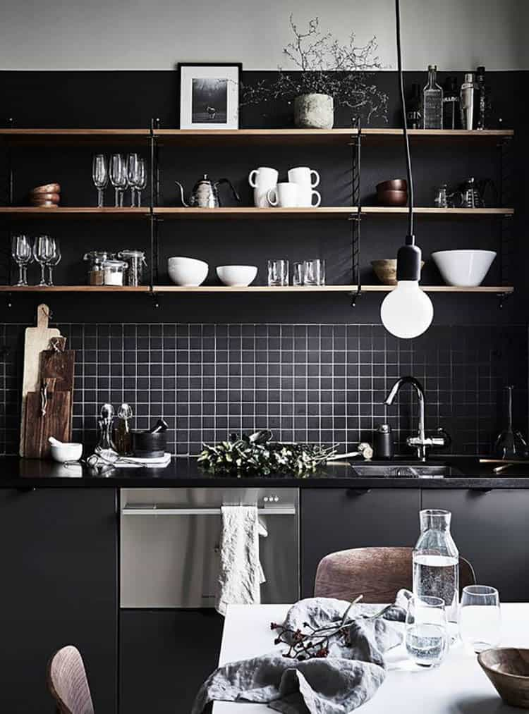 Open kitchen how to design kitchen with shelves
