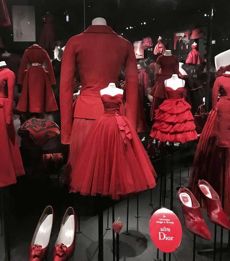 mostra Dior Parigi progetto allestimento
