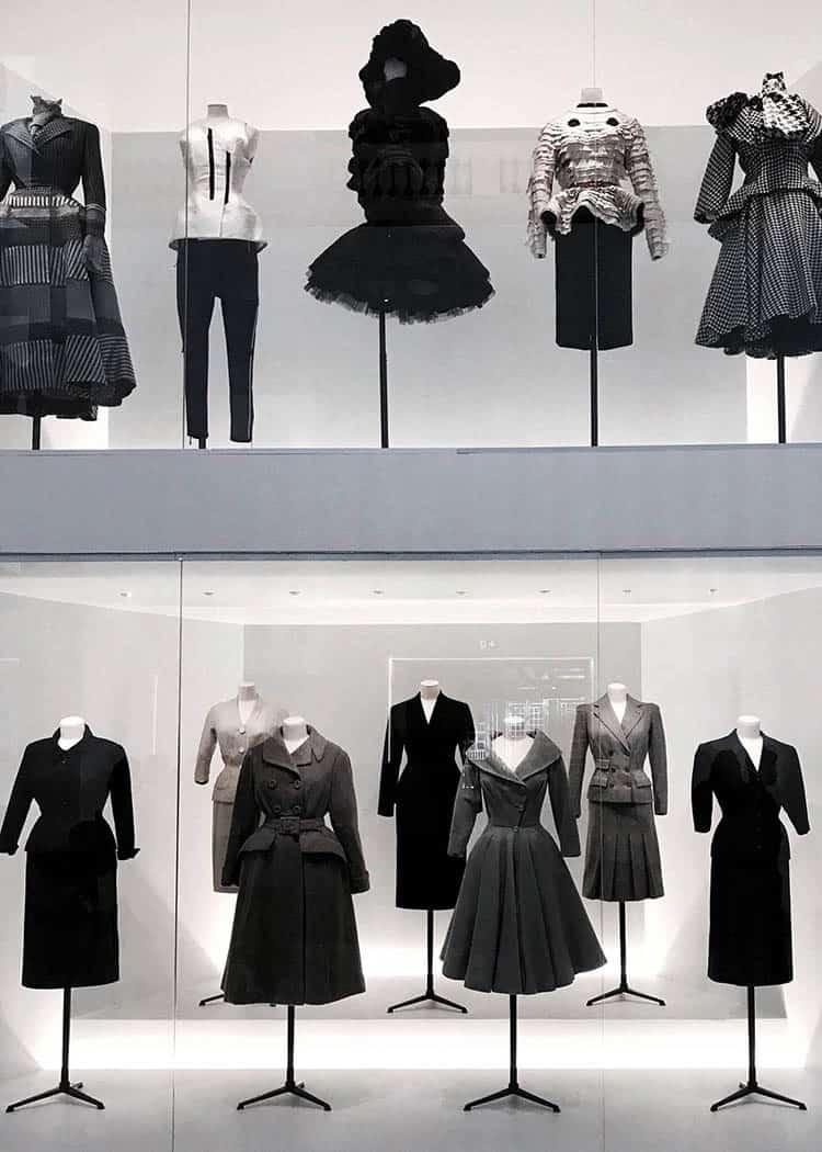 Dior Paris set up exhibition
