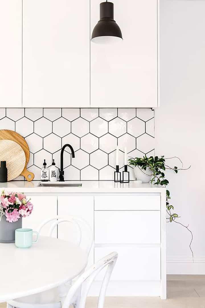 come arredare con il bianco - arredare casa total white - muri bianchi