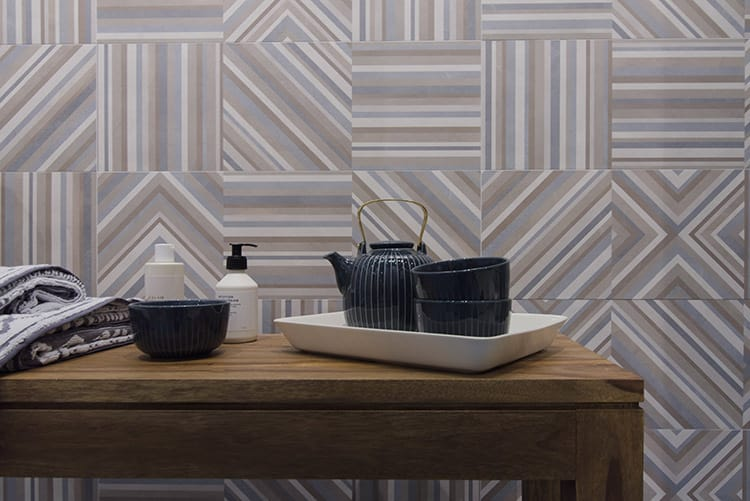 FAP ceramiche Piastrelle effetto geometrico trend 2018 cersaie 2017