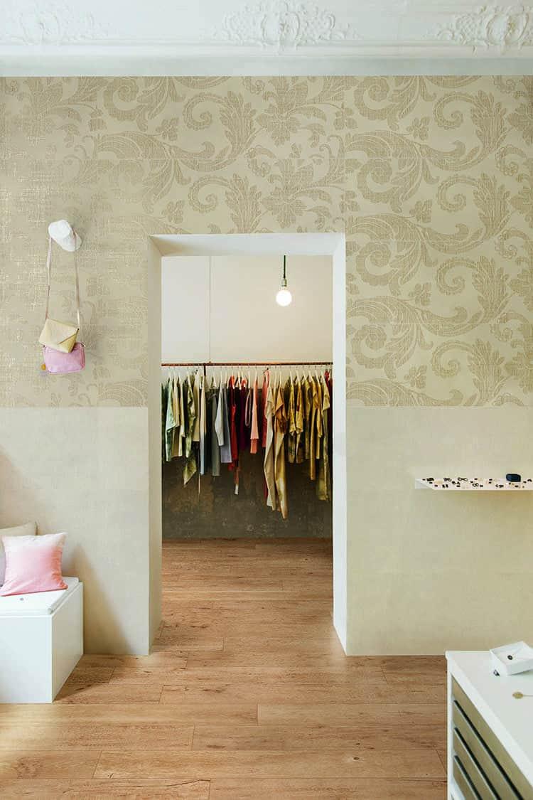 Fabric Marazzi Cersaie 2017 Trend Lastre piastrelle effetto tessuto
