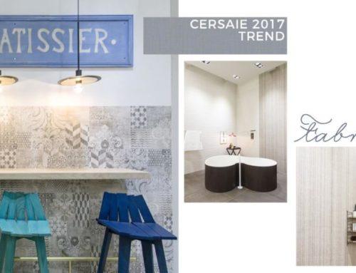 TREND CERSAIE 2017 | IL TESSUTO