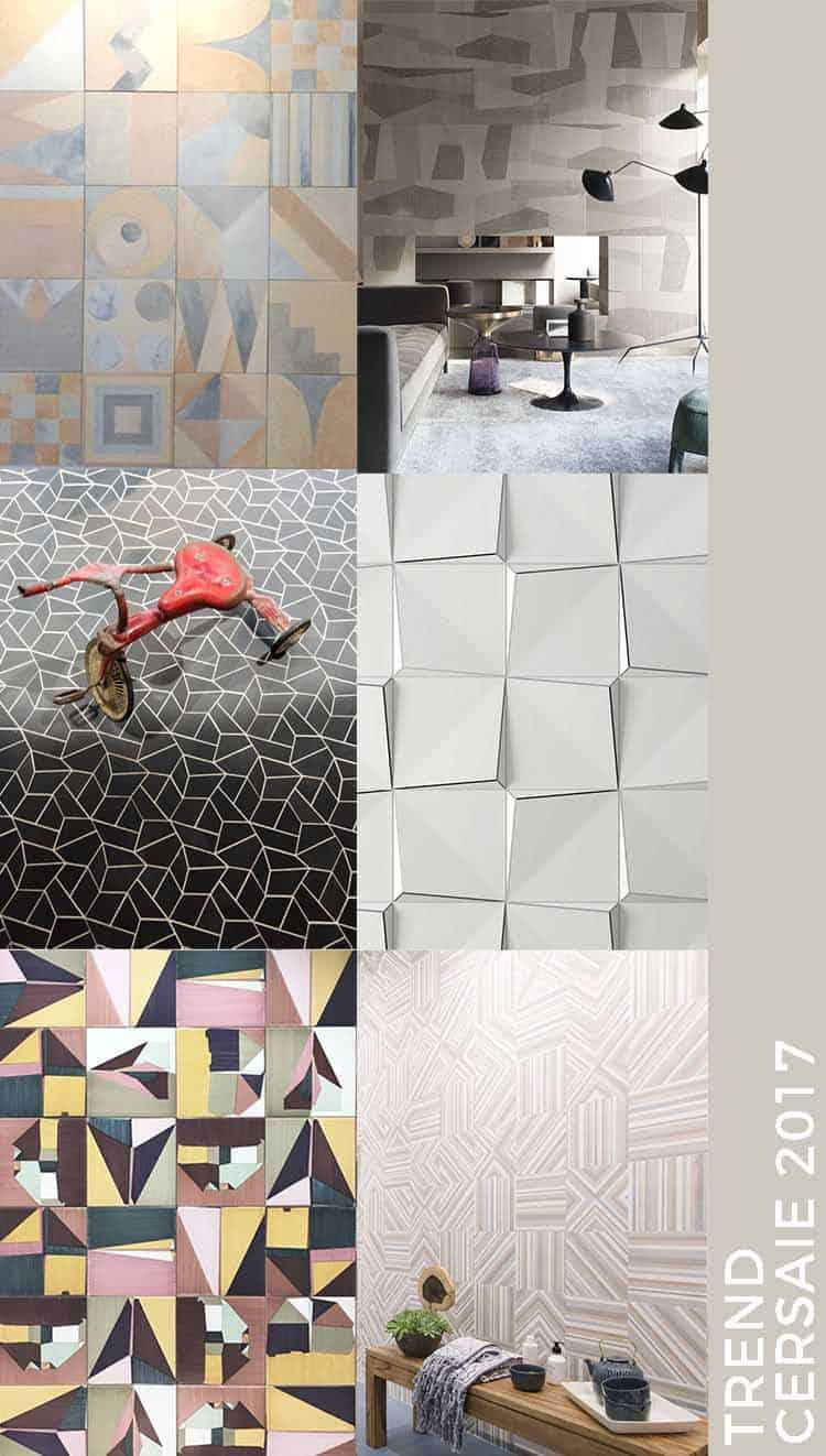 geometria Trend Cersaie 2017 interior ceramica