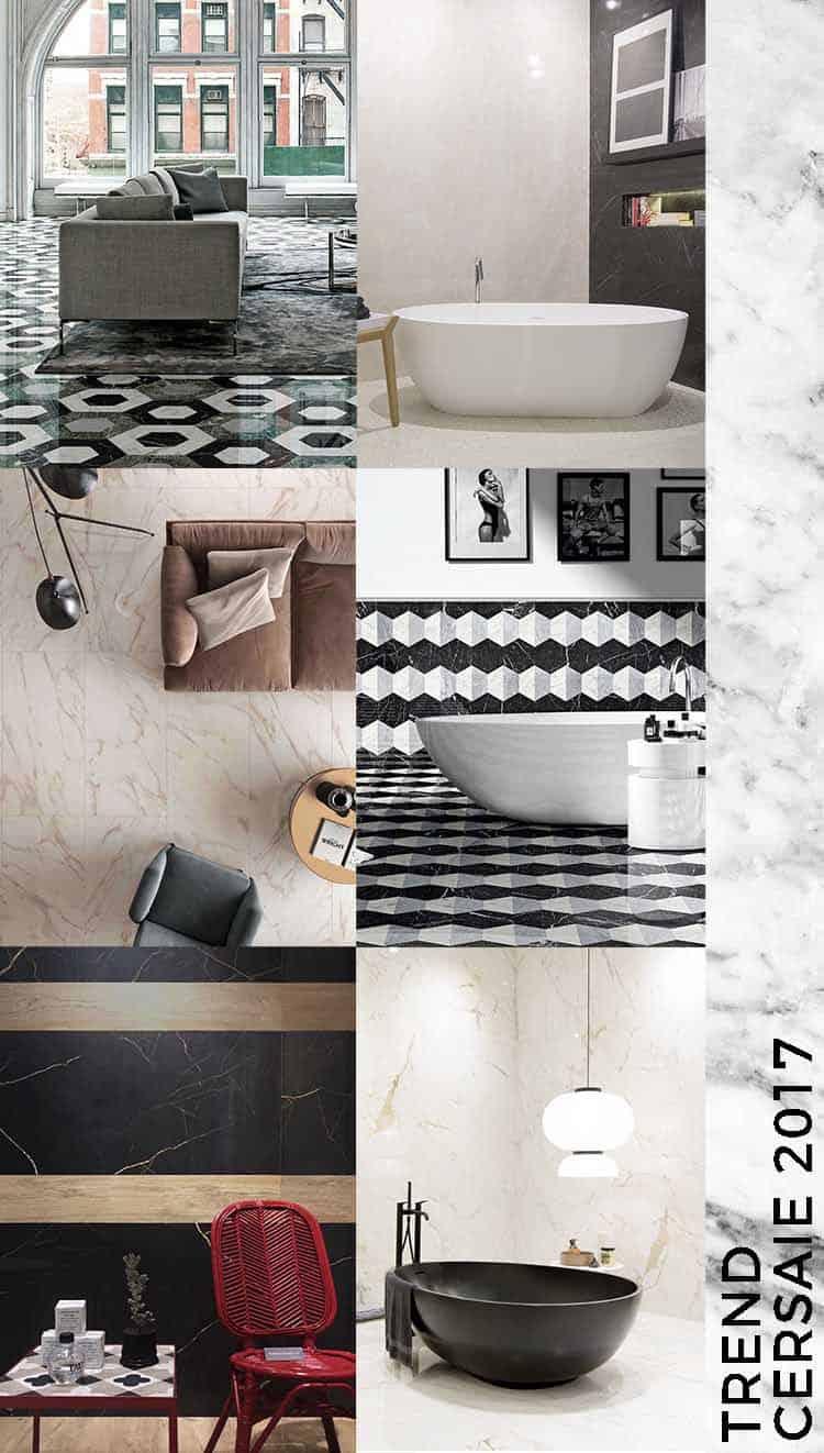 marmo Trend Cersaie 2017 interior ceramica