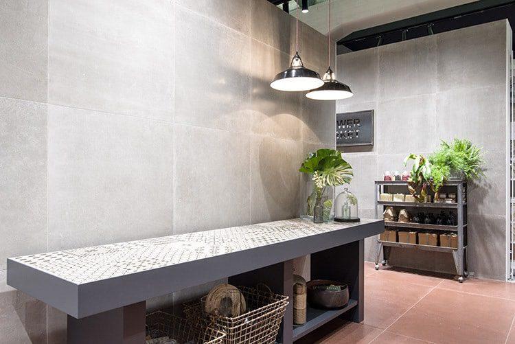 Cersaie trend 2017 waxy tiles Ragno