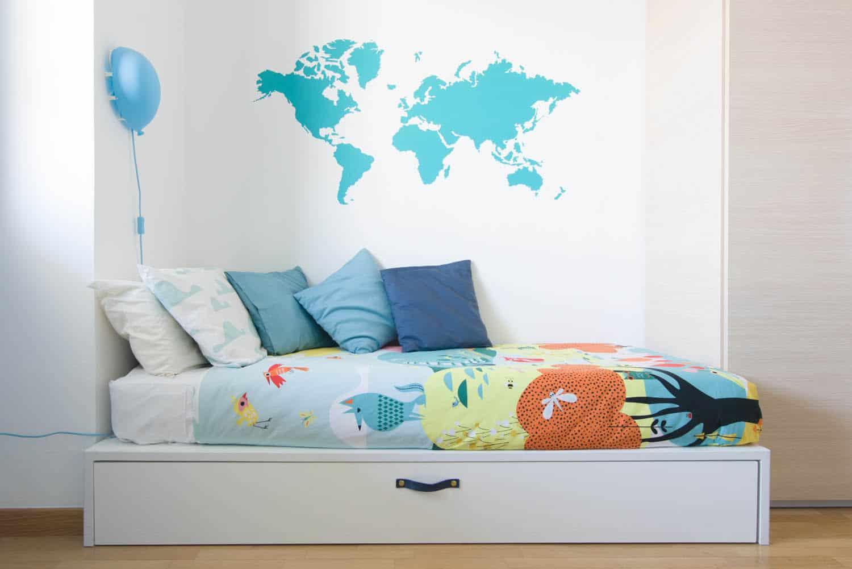 Cameretta bambino uno spazio di gioco per lele for Ikea altalena
