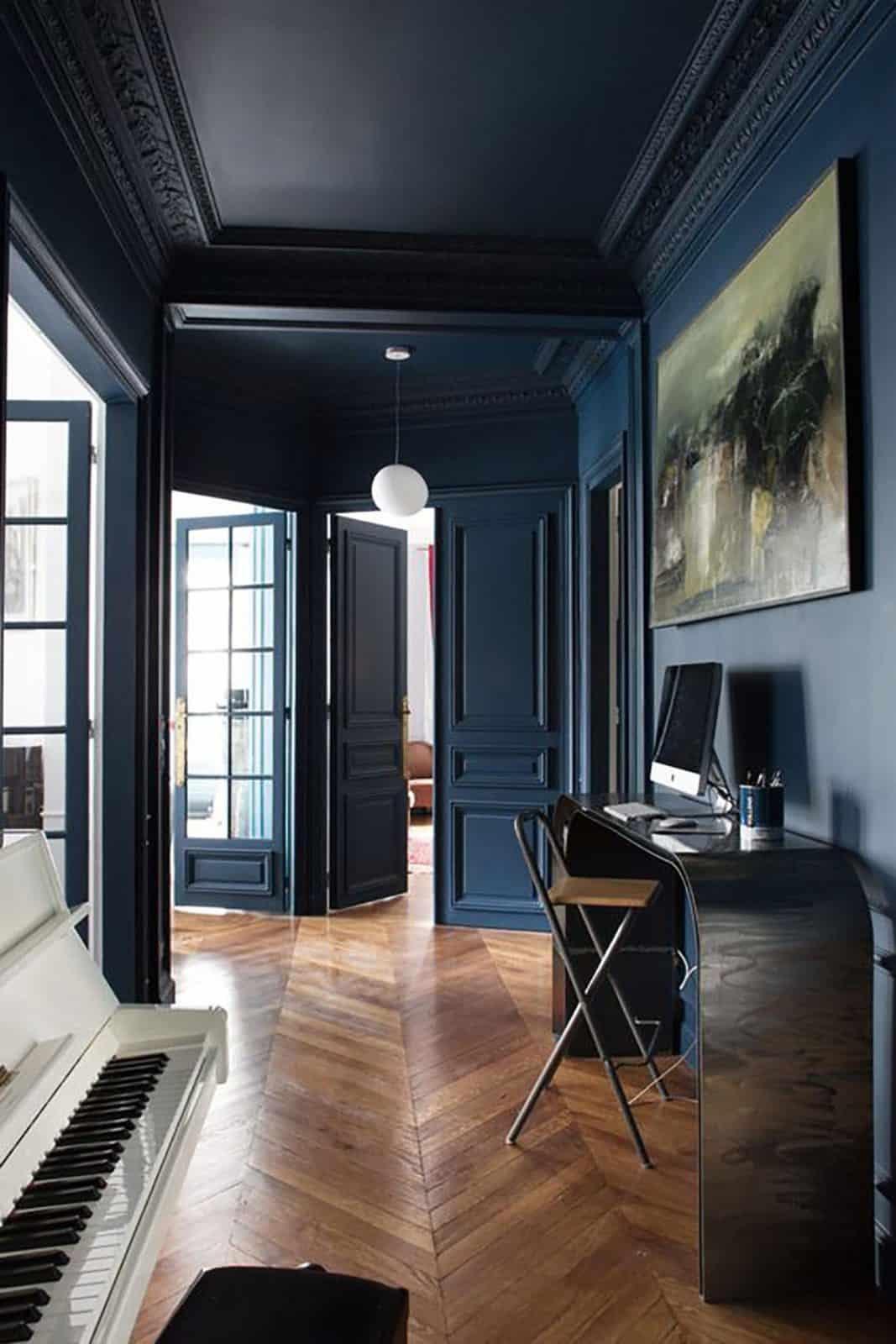 blu come si abbina arredamento arredare soggiorno blu