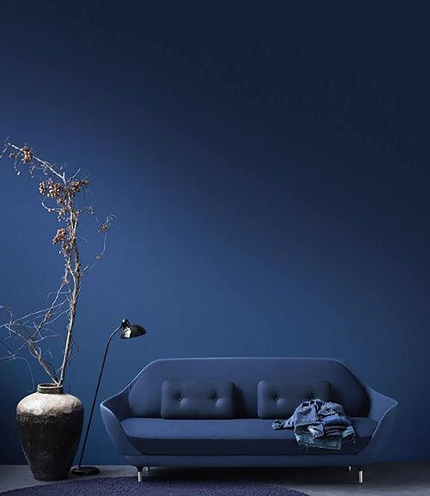 blue interiors blue living room midnight blue