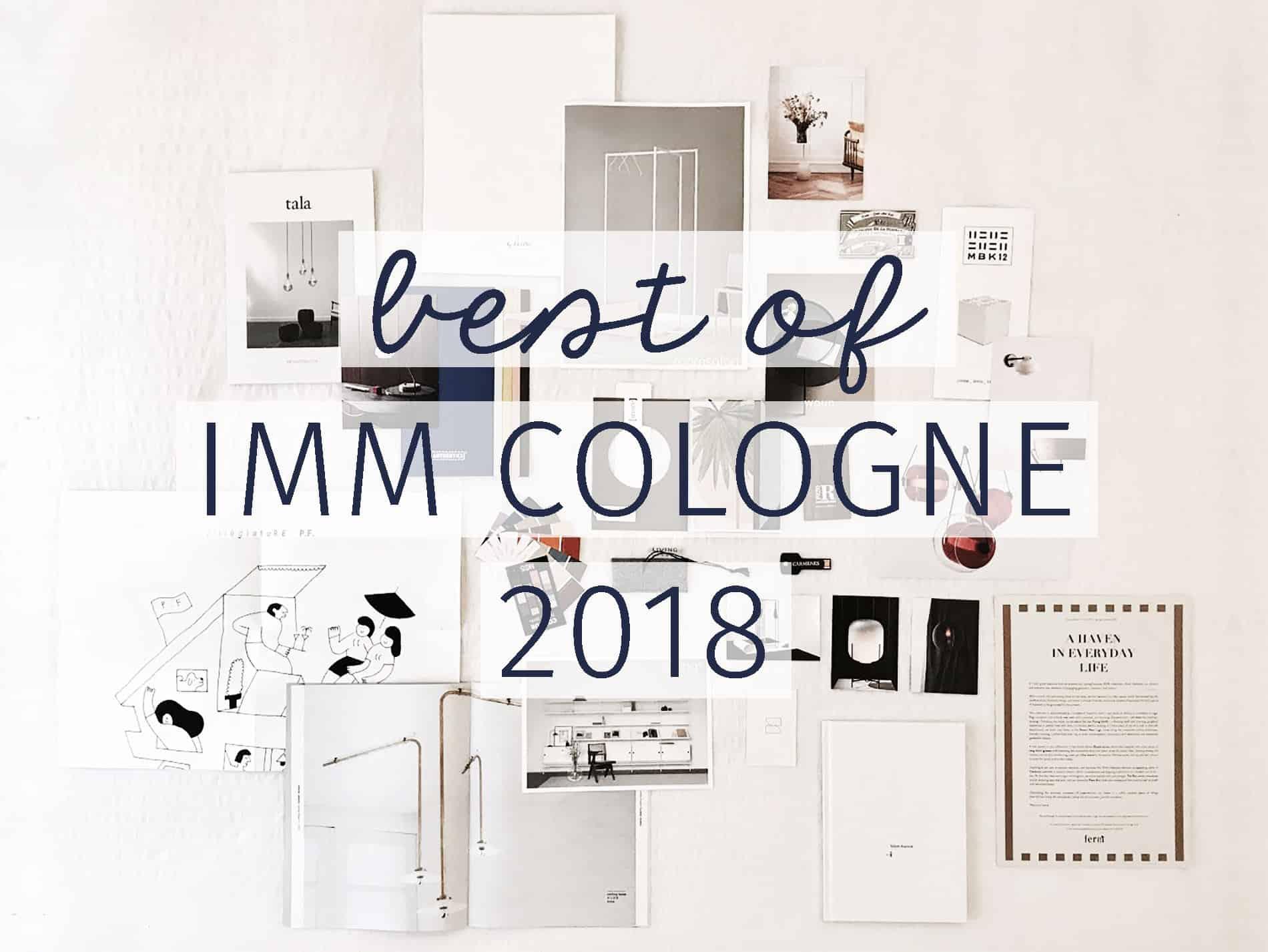 imm cologne 2018 le migliori novità di design