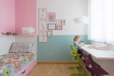 Cameretta unprogetto progettazione e arredamento di for Arredamento cameretta bambina