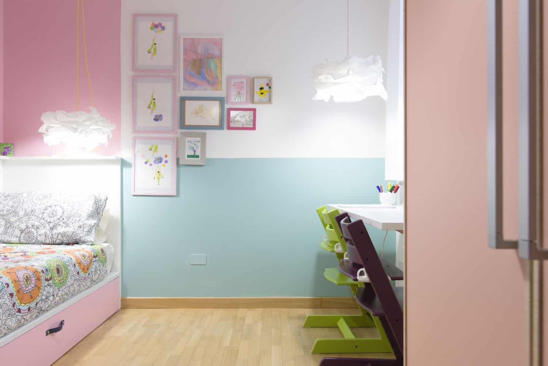 Cameretta bambina colori pastello idee per arredare with for Progettare cameretta
