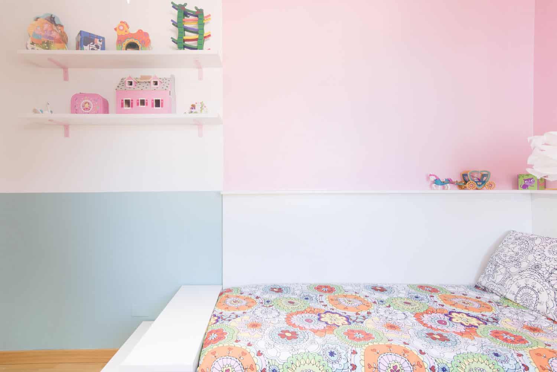 Elegant cameretta bambina colori pastello idee per for Cameretta bimba 3 anni