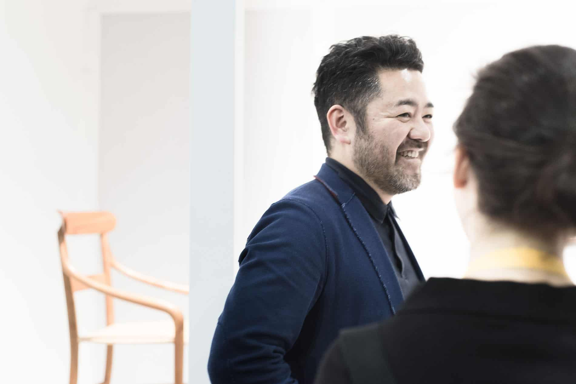 Intervista a Kensaku Oshiro Rising Talent Award