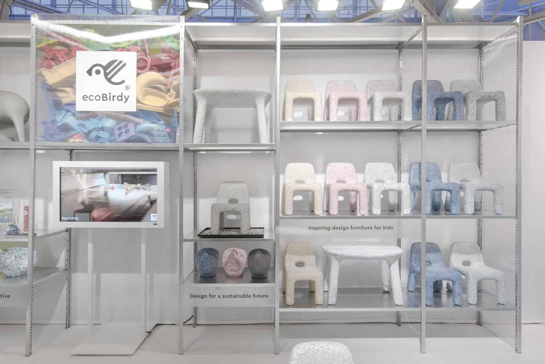 design per bambini sostenibile giocattoli in plastica riciclata