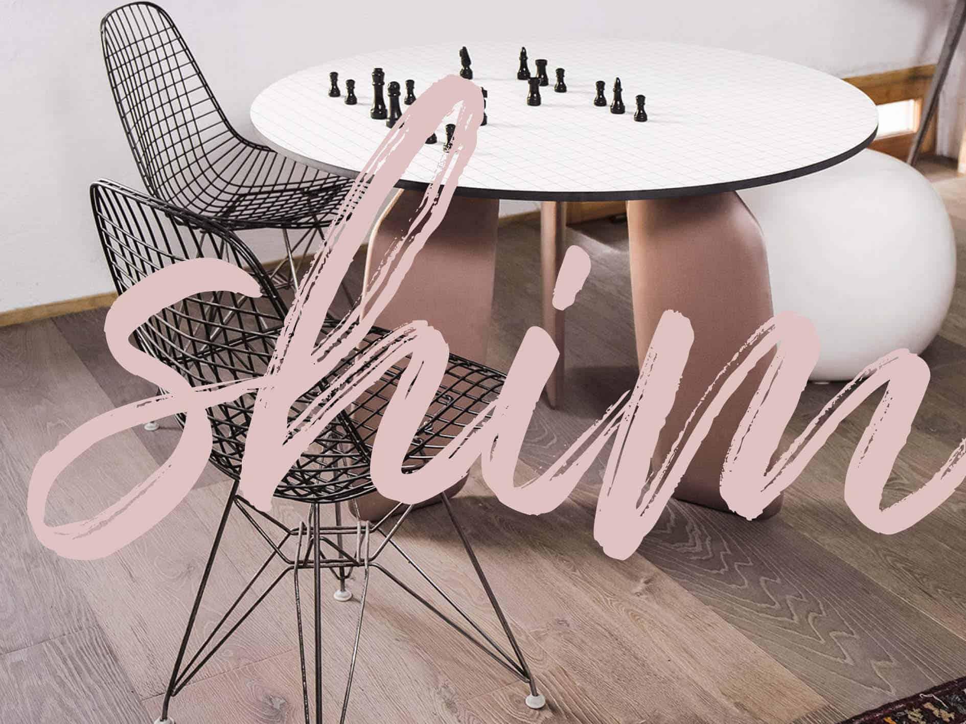 rosa interior trend 2018 rosa shim