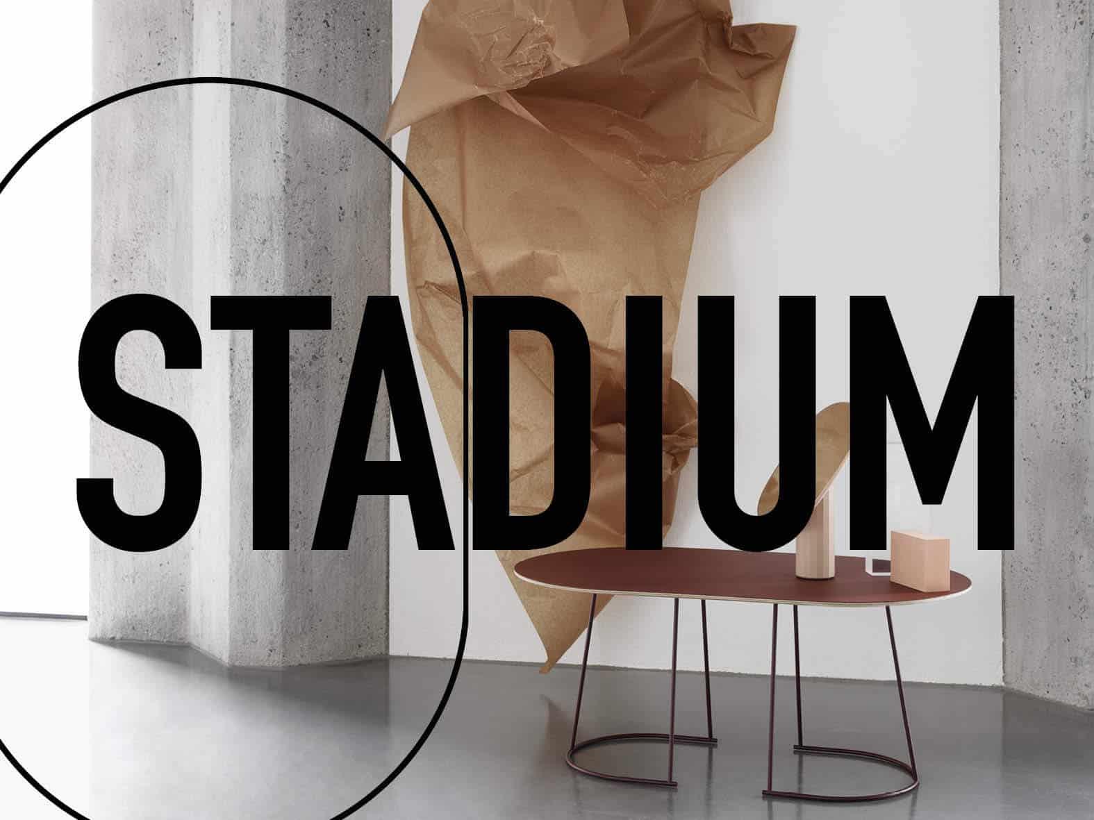 stadium trend 2018 interior design cerchio rettangolo