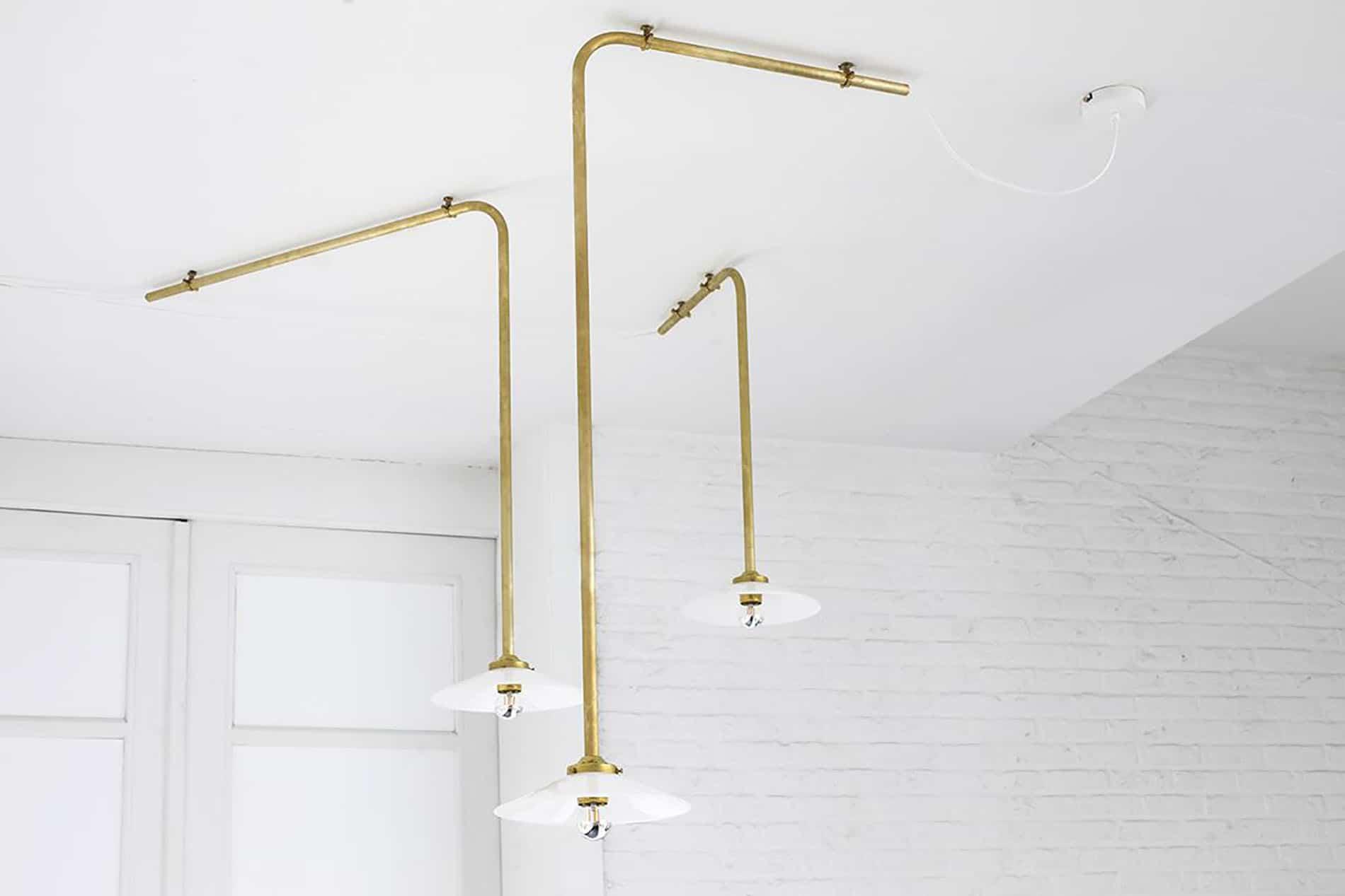 oro trend 2018 lampada industriale minimale oro valerie objects