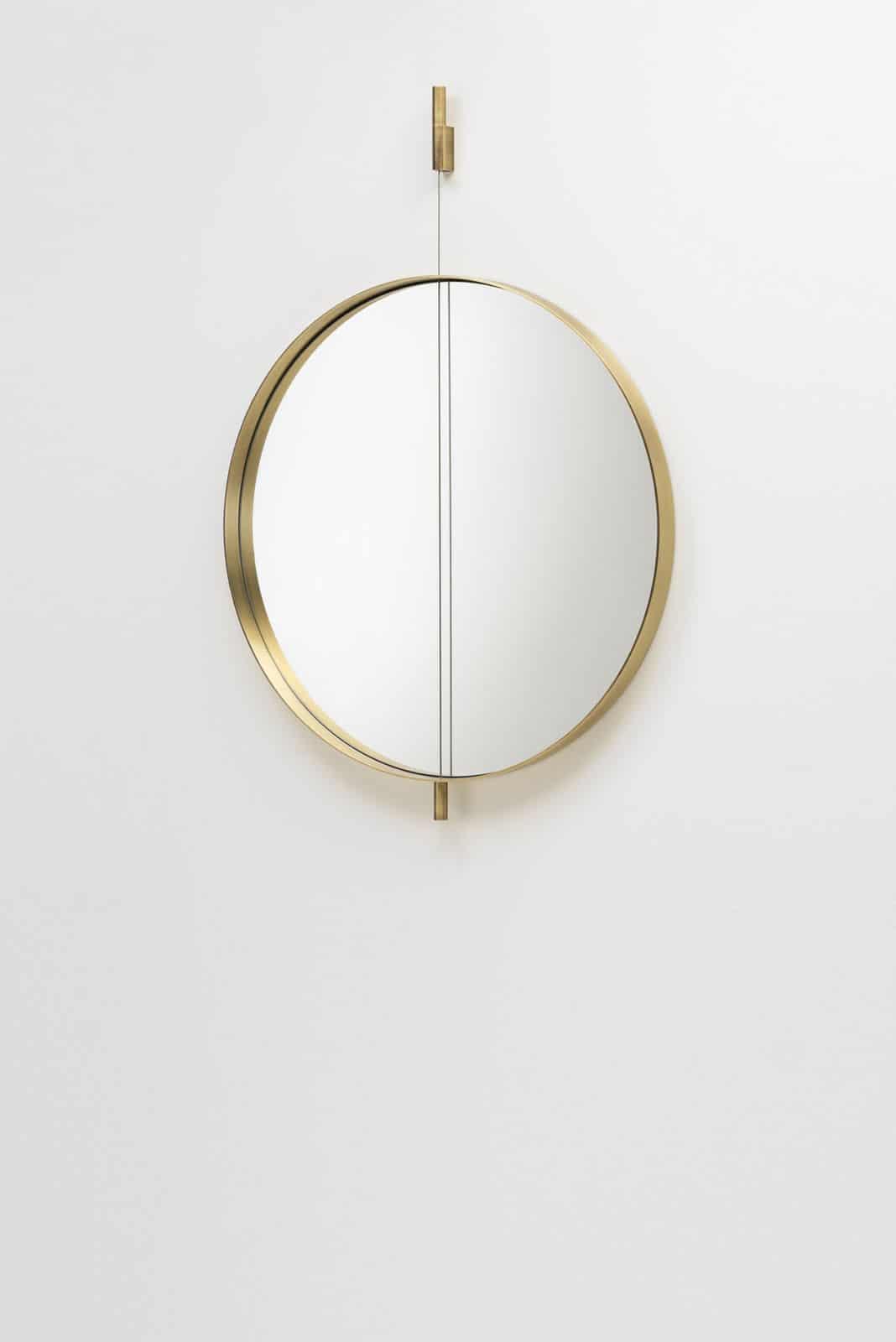 oro trend 2018 specchio oro pendolo living divani
