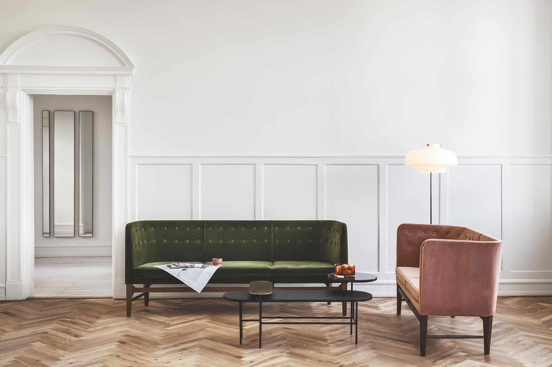 velluto per arredamento trend 2018 interior design