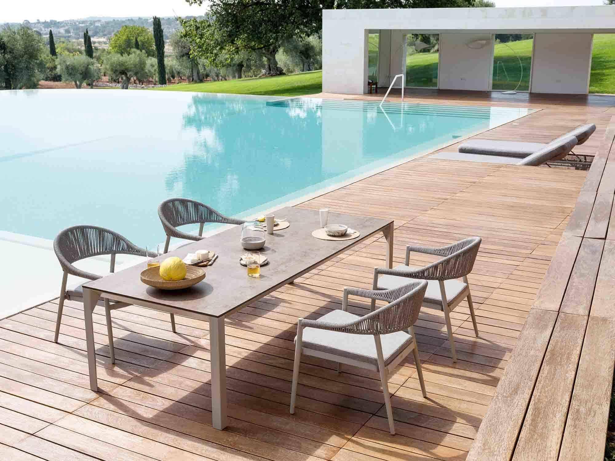 comfortable outdoor furniture Varaschin Low