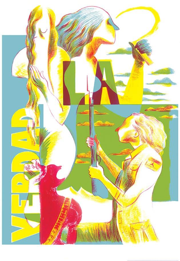 Lorena Canottiere mostra d'illustrazione Torino