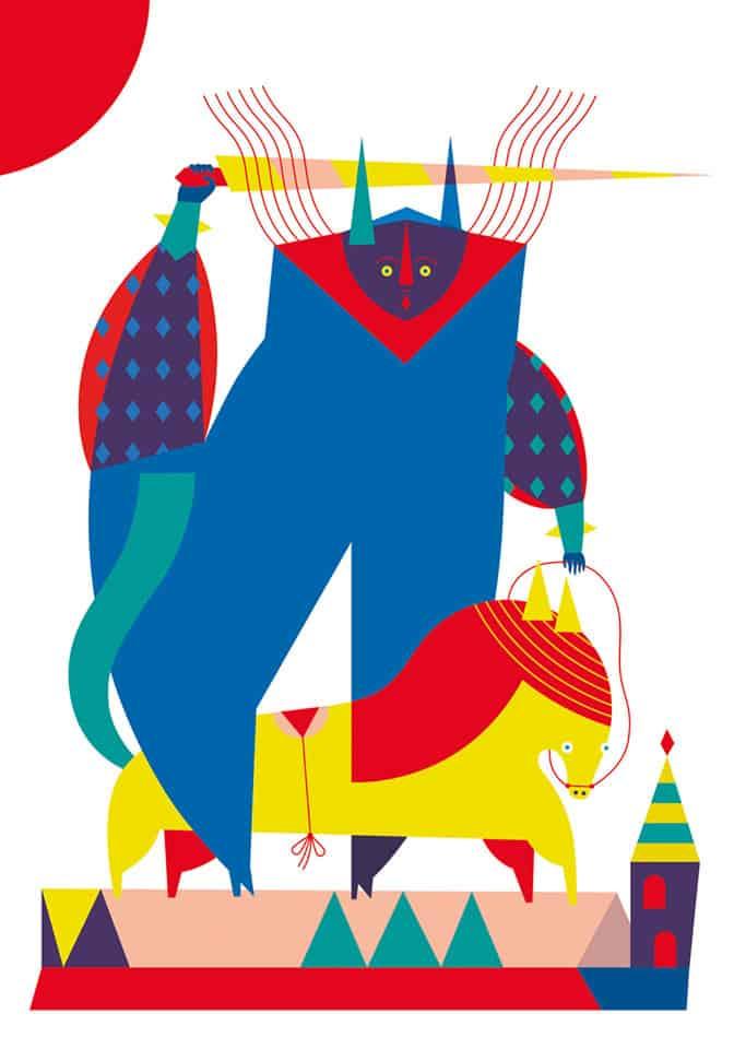 Camilla Falsini mostra d'illustrazione Torino