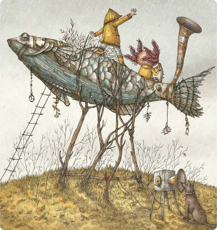 Imaginé festival illustrazione vernante outsider art