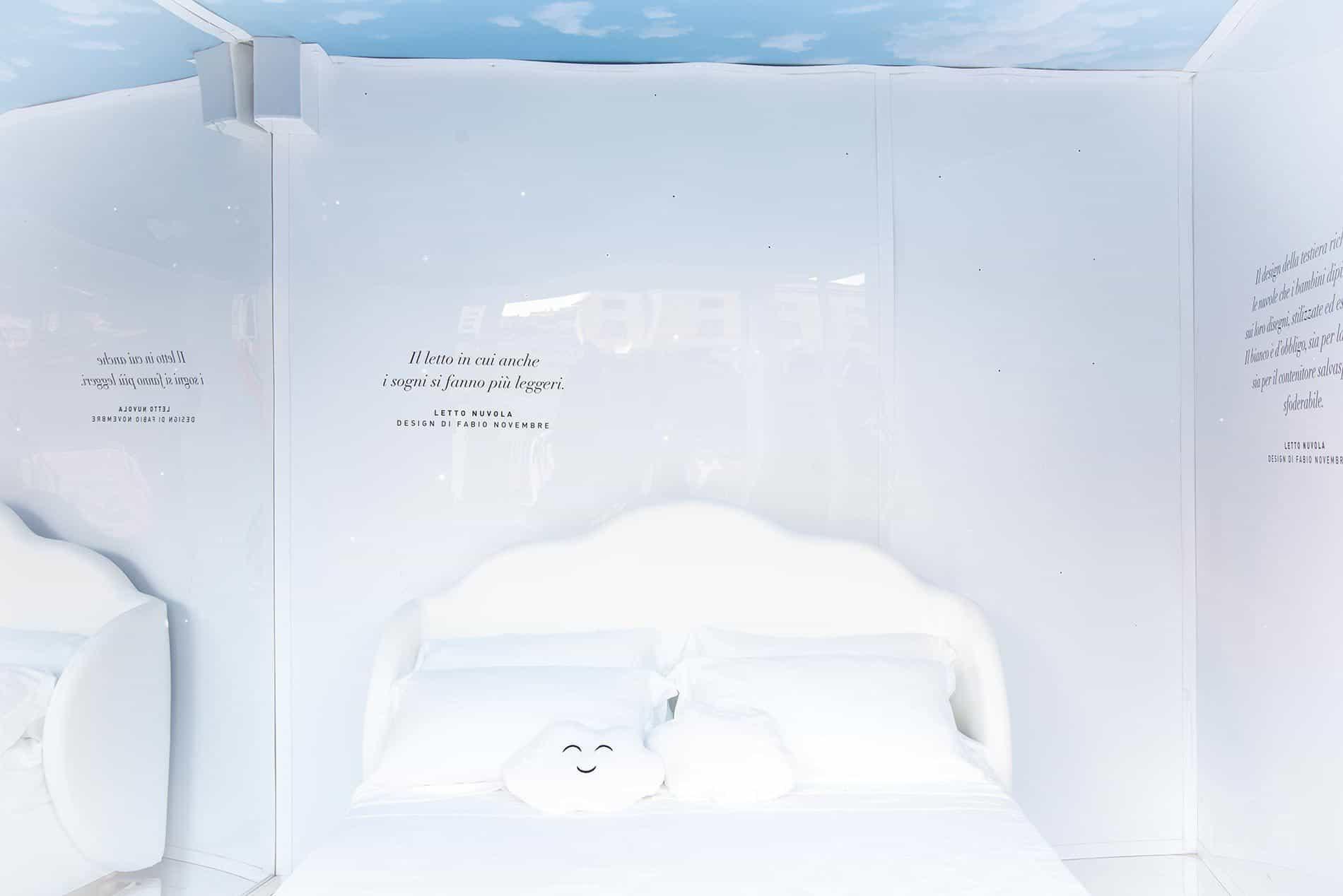 letti di design economici per dormire nuvola