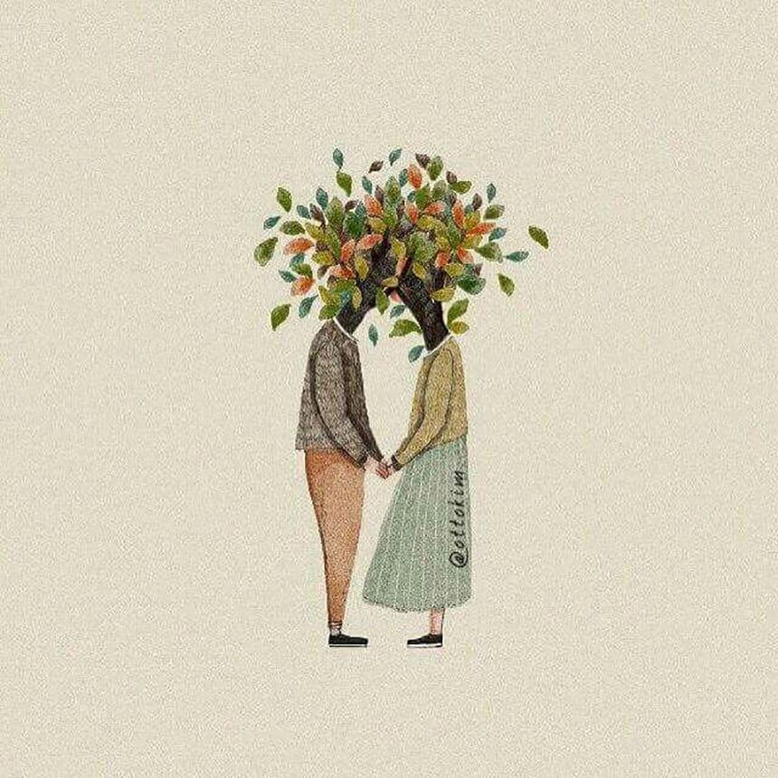 estate illustrazioni idee Otto Kim