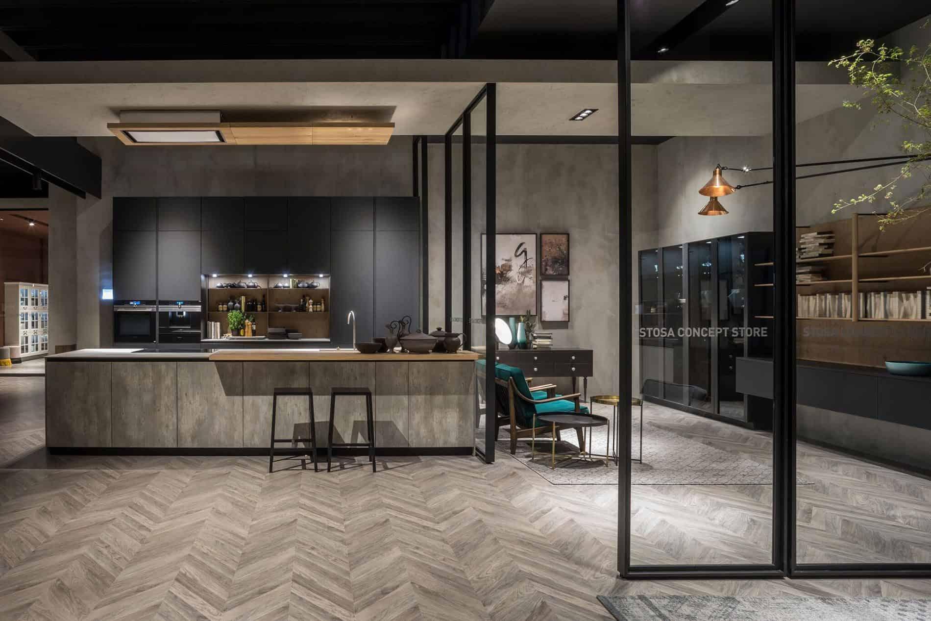 Cucine nere opache for Keidea catalogo