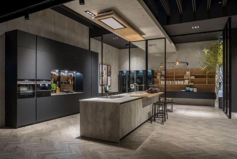 Cucine nere interior trend 2018 unprogetto for Designer cucine