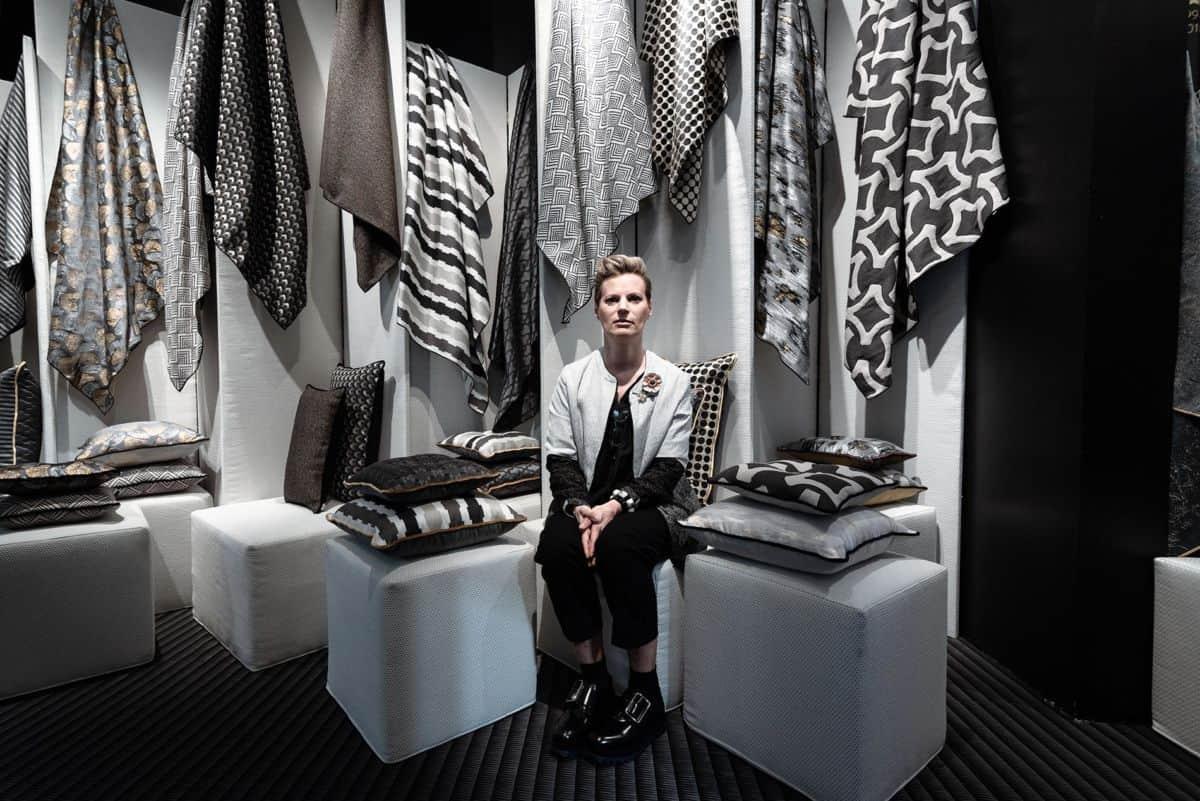 interview to Barbara Bertoldo designer tessuti L'Opificio Torino