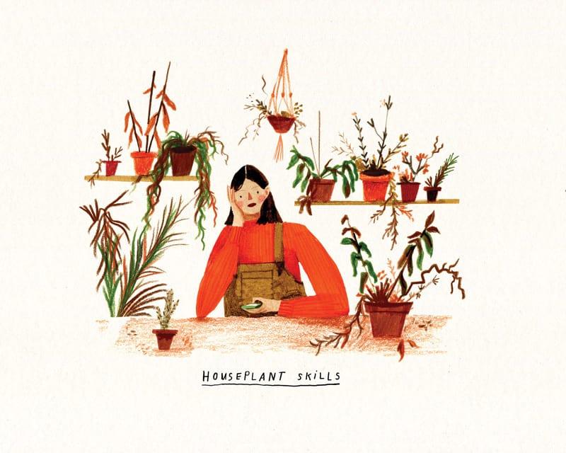 illustrazioni estate idee Nina Cosford