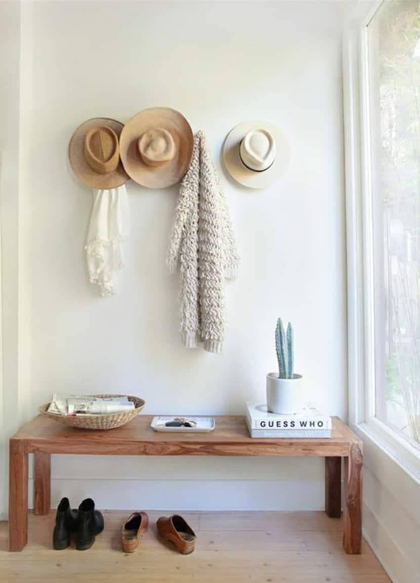 Cappelli di paglia arredare interior design