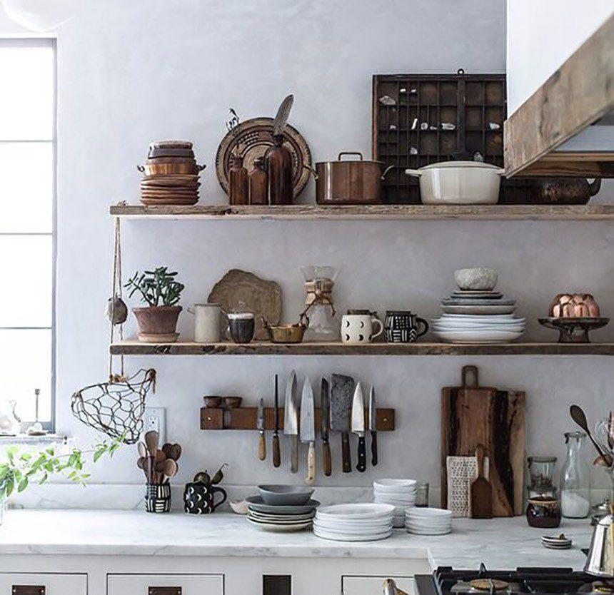 decluttering cucina living interior