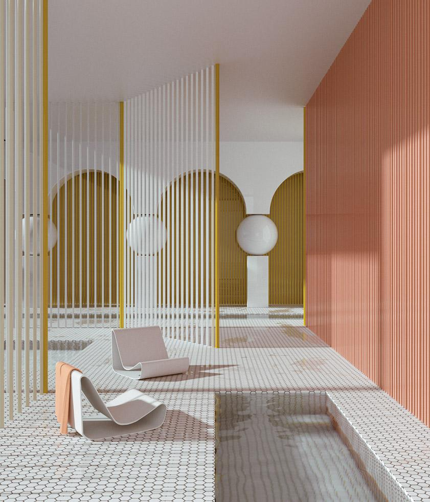 alexis christodoulou 3d interior render